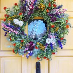 Today's sunshine put me in a summertime mood! Doorway greetings to y'all!