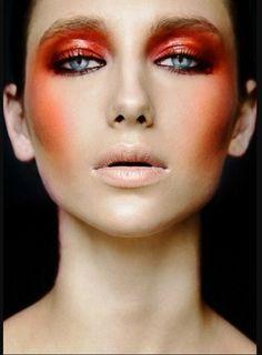 Intense color makeup