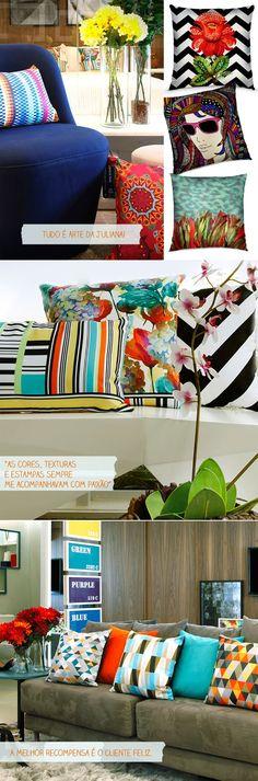 Almofadas da Juliana Curi Design