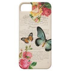 Vintage iphone 5 case - The Vintage Garden