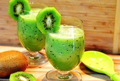 Kiwi-Cantaloupe Smoothie - easy, delicious and healthy! Kiwi-Cantaloupe Smoothie - easy, delicious and healthy! Kiwi Smoothie, Fruit Smoothies, Smoothie Detox, Healthy Green Smoothies, Easy Smoothies, Smoothie Drinks, Weight Loss Smoothies, Healthy Drinks, Smoothies For Diabetics