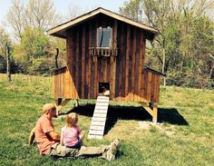 Chicken Coop made from pallet wood. Eleven Eleven Woodworks