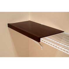 Shelf Liner for Wire Shelving 12-inches deep - 10 foot roll - Overstock Shopping - Great Deals on Closet Storage