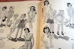 Pictorial Review Fashion Book, Summer 1934 featuring children patterns
