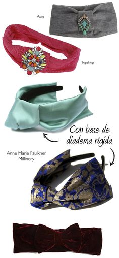Dare to DIY: Inspiración DIY: Turbantes diadema                                                                                                                                                                                 Más
