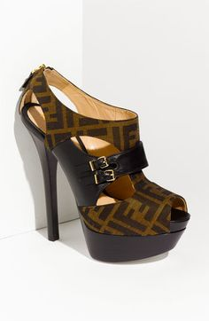 Fendi 'Pulp' Double Platform Pump