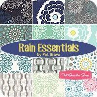 love this bundle!!   giveaway thru Pile O Fabric thru 4/23/14: Rain Essentials Fat Quarter BundlePat Bravo for Art Gallery Fabrics