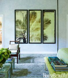 Colorful Beach House Decor - Tropical Design Ideas - House Beautiful