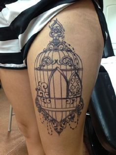 Tattoo-Design-Idea-Birdcage-22