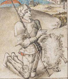 Speculum humanae salvationis Frankreich (Paris?) oder Flandern · 15. Jahrhundert (um 1430-1450) Codex 206(49)  Folio 17