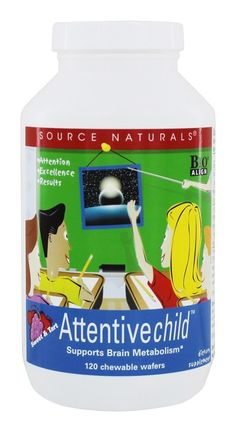 Save on Attentive Child Sweet & Tart by Source Naturals and other Brain, Memory & Nervous System Support, Brain Health          and Artificial Colors Free remedies         at Lucky Vitamin. Shop online for Baby & Child Health, Nutritional Supplements, Source Naturals items, health and wellness products at discount prices.