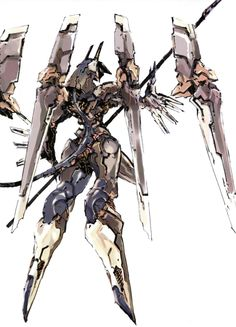 Anubis - Zone of Enders.  *City ~ Military Weapon I.II