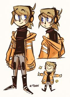 Nick doodles