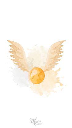 Vif d'or Harry Potter - Marion Blanc