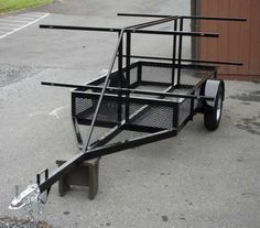 homemade kayak trailers - Google Search                                                                                                                                                                                 More