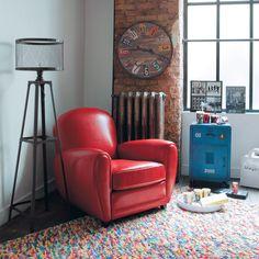 RAINBOW woollen rug, multicoloured 140 x 200cm | Maisons du Monde