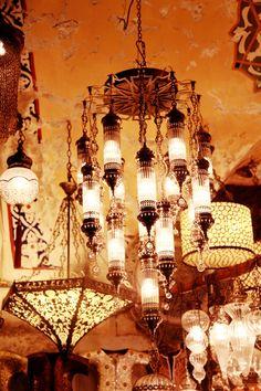 Turkish lamps / grand bazaar,istanbul,turkey
