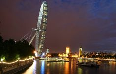 London Eye, Houses of Parliament, from the Millennium Bridge, London | Flickr - Photo Sharing!