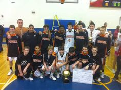 Congratulations to Coach Darin Courtney and the Powell Middle School team for winning the   2011-12 Knox County Middle School Championship! Look at all those alumni of   the Powell Youth Basketball League. Of the 14 players in that photo, 13 of them   played multiple seasons in the PYB league. Great job guys!