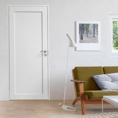 Modern interior door that suits 50s style house?