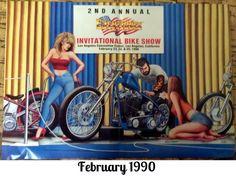 David Mann Centerfold Poster Easy Rider February 1990 Biker Art   eBay
