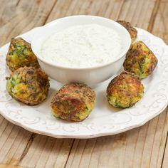 Kolokythokeftedes | Fried zucchini Fritters | Lemon & Olives | Greek Food & Culture Blog