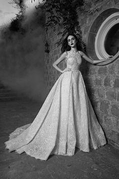 Georgian model Tako Natsvlishvili in a magnificent Bridal collection by a Lebanese designer