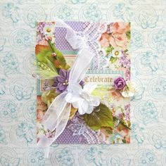 Erica Houghton Designs: Graphic 45 & Scrapbook Adhesives by 3L Blog Hop. A beautiful Sweet Sentiments card by the amazing Erica! #graphic45 #scrapbookadhesives