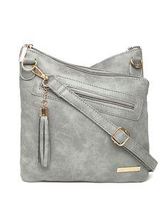 Lisa Haydon For Lino Perros Grey Sling Bag Handbags Women Myntra