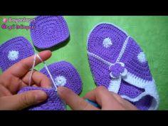 Motifli Bayan Patik Modeli Anlatımlı yapılışı - YouTube
