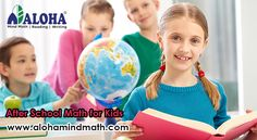 ALOHA offers after school reading for kids through its Center for English writing skills. ALOHA writing helps children to read and write without any difficulty.