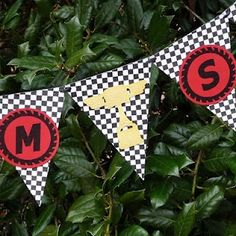 Race Car Party: Caleb's Disney Cars 3rd Birthday Party   Belly Feathers :: Handmade Party Ideas Blog by Betsy Pruitt