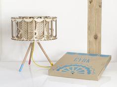Lampa Cyrk! Akrobaci w Smaga Projektanci na DaWanda.com #niezchinzpasji