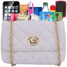 Premade ❤ liked on Polyvore featuring bags, handbags, premade, purses, purse bag, man bag, hand bags and handbags purses