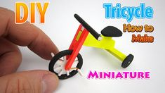 DIY Realistic Miniature Tricycle | DollHouse | No Polymer Clay!