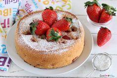 Torta di fragole morbidissima senza lattosio