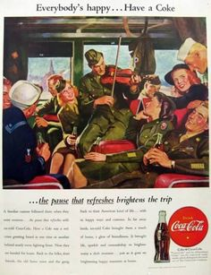 ideology coca cola advert (photo credit: jay maisel) via coca-cola website one of the early interracial ads in america, a 1969 image featured black and white young boys enjoying coca-colas on a bench, was the ad that forever changed the career of jonathan mildenhall why it matters: mildenhall — co-founder and ceo of .