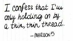 Sad by maroon 5