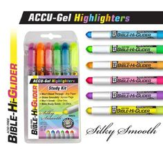 ACCU-Gel Highlighters Study Kit G T Luscombe http://www.amazon.com/dp/B00IJGMQ8G/ref=cm_sw_r_pi_dp_I.WPub1EX52RR