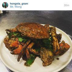 Chef Dan Hong's @hongsta_gram black #kampotpepper crab at Mr Wong - a classic beautiful combination.  #pepper #spice #organic #dining #cooking #chef #chefsofinstagram #chefstalk #instachef #instafood ##tabletopmatters #sydneyrestaurant #restaurant #theartofplating #danhong by kampotpeppertraders