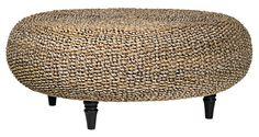 Riau Woven Fiber Round Coffee Table   LampsPlus.com
