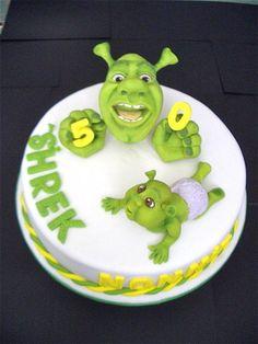 Best 25 Shrek Cake Ideas On Pinterest Birthday Cakes