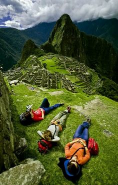 Backpacking without Borders--Machu Pichu..