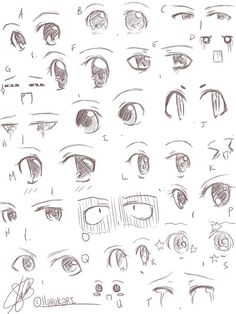 31 ideas for drawing anime expression faces - chibi bases - . - 31 ideas for drawing anime expression faces – chibi bases – - How To Draw Anime Eyes, Manga Eyes, Easy Anime Eyes, Art Drawings Sketches Simple, Pencil Art Drawings, Sketches Of Eyes, Eye Drawings, Girl Eyes Drawing, Anime Eyes Drawing