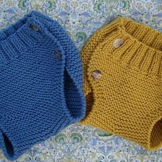 braguita bebé puntomoderno.com Knit Baby Sweaters, Knitted Baby Clothes, Knitted Hats, Knitting For Kids, Baby Knitting Patterns, Baby Patterns, Baby Blanket Crochet, Crochet Baby, Knit Crochet