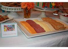 Sesame Street Party. Food. Hooper's Deli tray