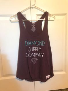 e0da36615f88 My Diamond Supply Co Tank Top by Diamond Supply Co.. Size M / 8