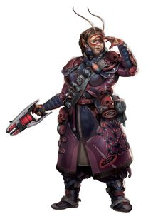 Starfinder Adventure Path Temple of the Twelve (Dead Suns 2 of Character Portraits, Character Art, Character Design, Fantasy Inspiration, Character Inspiration, Alien Female, Aliens, Alien Life Forms, Sci Fi Miniatures