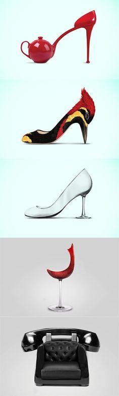 haris jusovic imagines creative chair concept of high heels seats