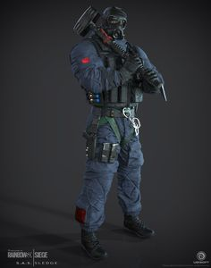Default Sledge The first CTU Operator I created for Tom Clancy's Rainbow 6 | Siege, by Ubisoft.by Jempix - Page 23